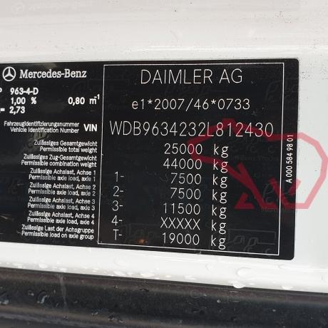 DEZMEMBRARI CAMIOANE MERCEDES ACTROS   MP4   WDB9634232L812430
