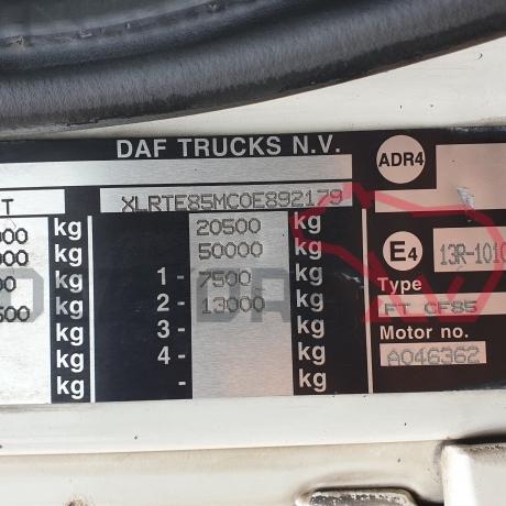 DEZMEMBRARI CAMIOANE DAF CF85   XLRTE85MC0E892179
