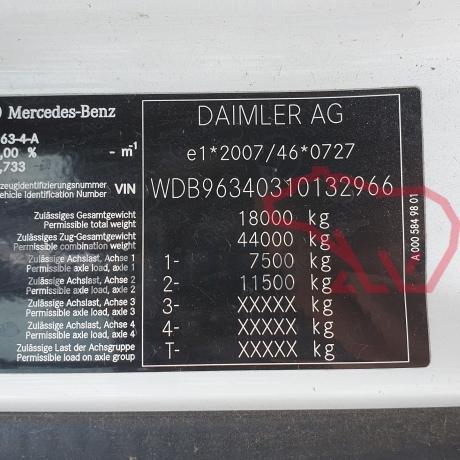 DEZMEMBRARI CAMIOANE MERCEDES ACTROS MP4   WDB96340310132966