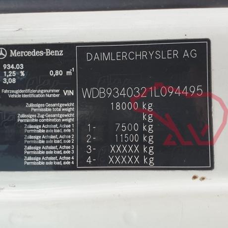 DEZMEMBRARI CAMIOANE MERCEDES ACTROS MP2   WDB9340321L094495