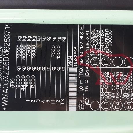 DEZMEMBRARI CAMIOANE MAN TGX 440 CP | WMA05XZZ6DM625371