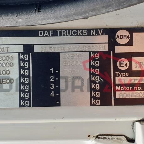 DEZMEMBRARI CAMIOANE DAF CF85 | XLRTE85MC0E892031