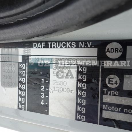 DEZMEMBRARI CAMIOANE DAF CF85, XLRTE85MC0E863992