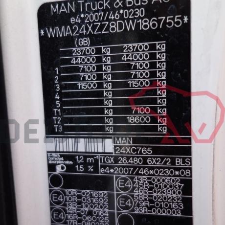 DEZMEMBRARI CAMIOANE MAN TGX   480 CP   WMA24XZZ8DW186755