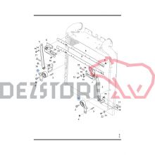1762624 SUPORT RADIATOR APA SCANIA R420 (DR)
