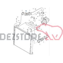 1809771 FURTUN RADIATOR INTERCOOLER SCANIA R420 (DR)