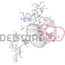 2102176 SUPORT CILINDRU AMBREIAJ SCANIA R420